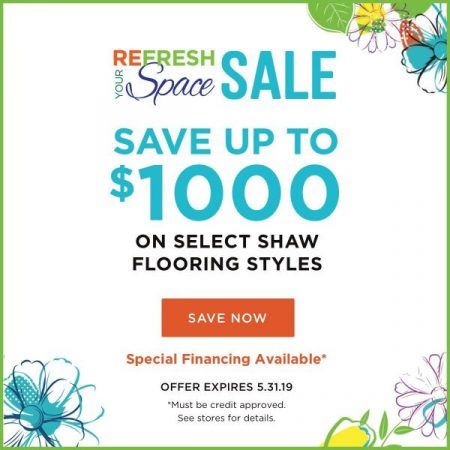 Refresh your space sale | Design Waterville