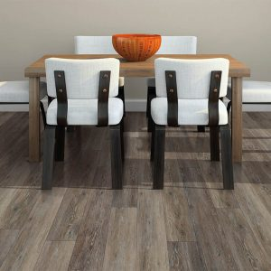 Small dining table on floor | Design Waterville