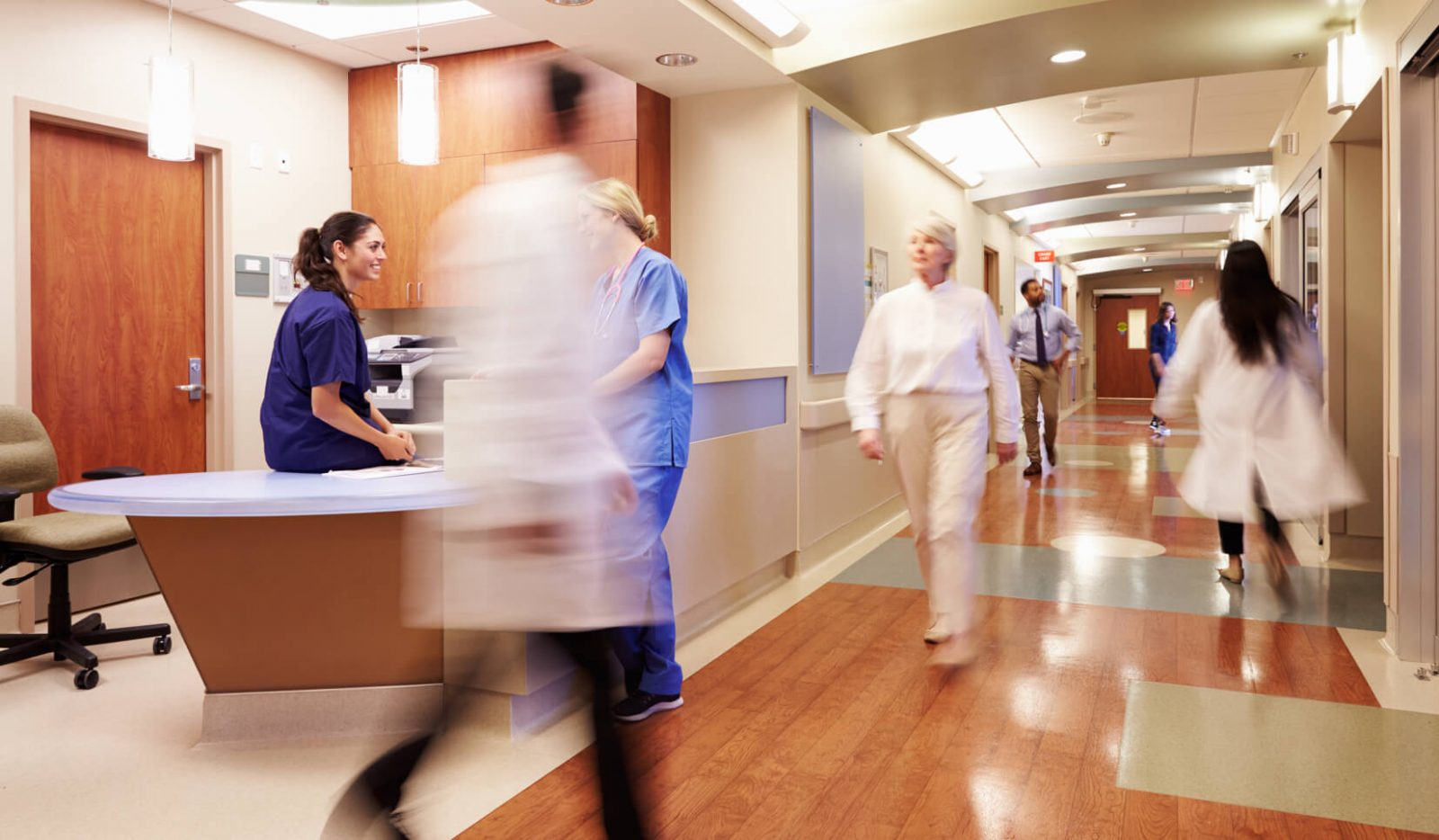 Hospital flooring | Design Waterville