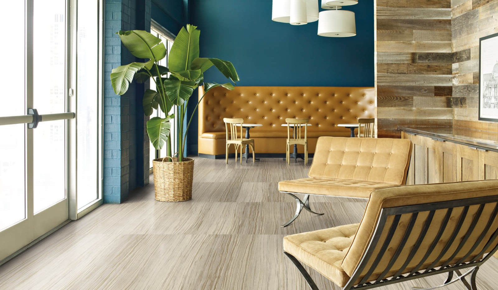 Commercial flooring | Design Waterville