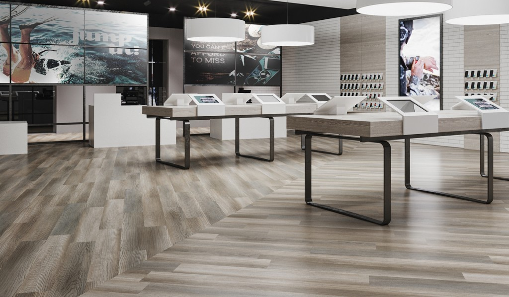 Retail flooring | Design Waterville