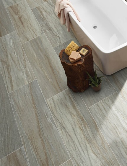 Tile flooring | Design Waterville