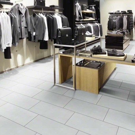 Retail location with commercial tile | Design Waterville