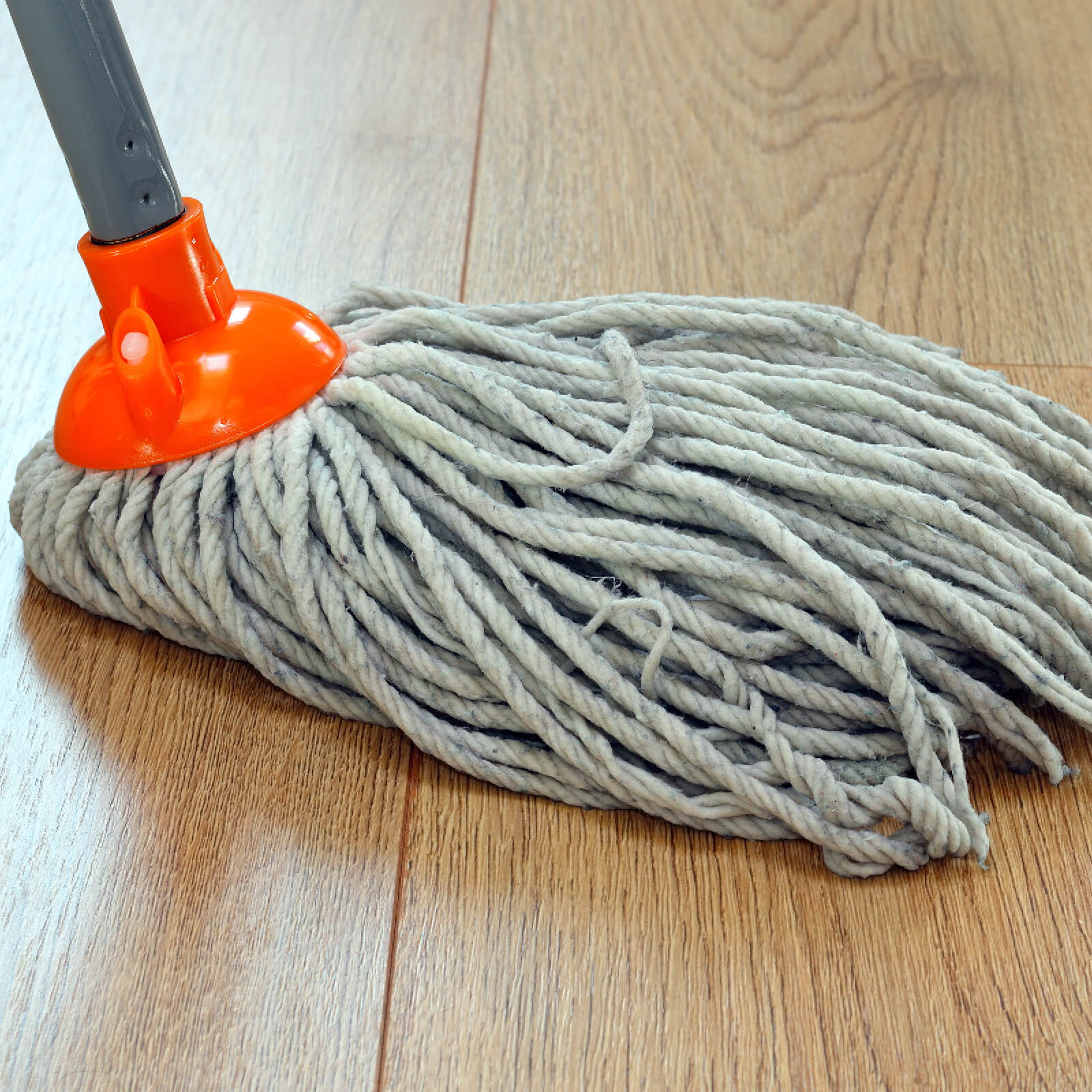 Mopping hardwood flooring | Design Waterville