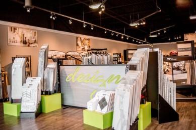 Inside view of showroom | Design Waterville