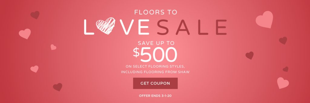 Love sale banner | Design Waterville