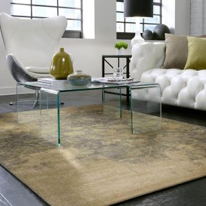 Area Rug in living room | Design Waterville