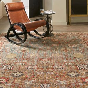 Armchair on Area Rug | Design Waterville