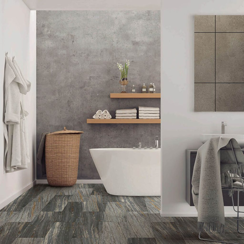 Bathroom Vinyl flooring | Design Waterville