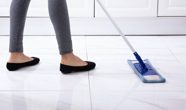 Cleaning of Tile flooring | Design Waterville