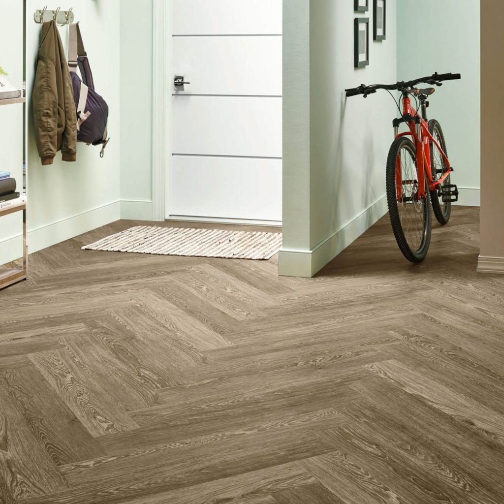Bicycle on flooring | Design Waterville