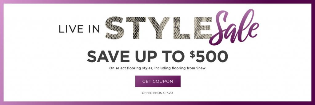 Live in Style Sale | Design Waterville