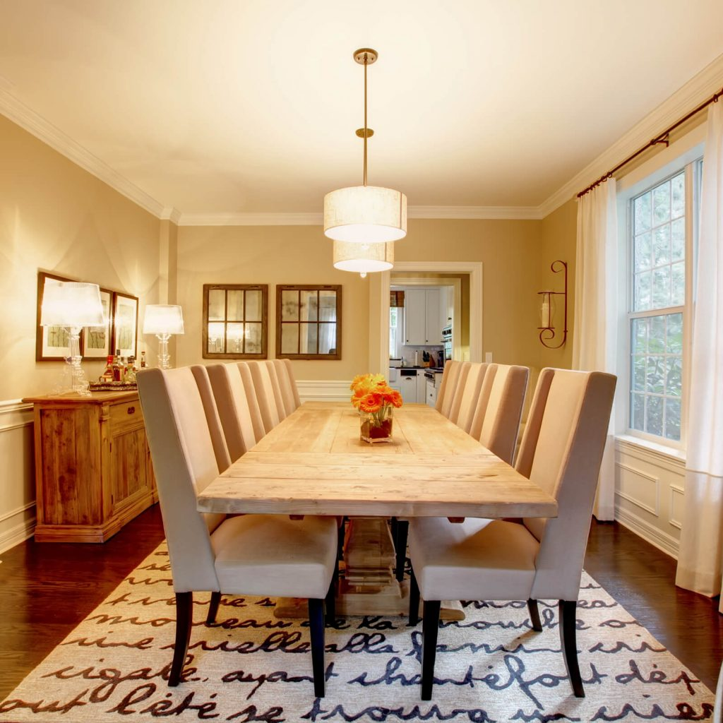 Best Rug for Your Dining Room | Design Waterville